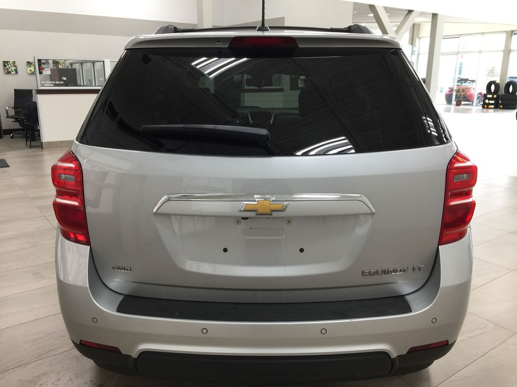 Silver[Silver Ice Metallic] 2016 Chevrolet Equinox LT AWD Rear of Vehicle Photo in Sherwood Park AB