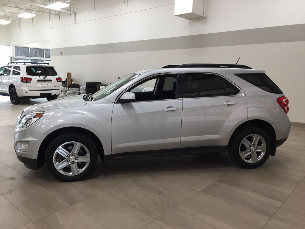 Silver[Silver Ice Metallic] 2016 Chevrolet Equinox LT AWD Left Side Photo in Sherwood Park AB