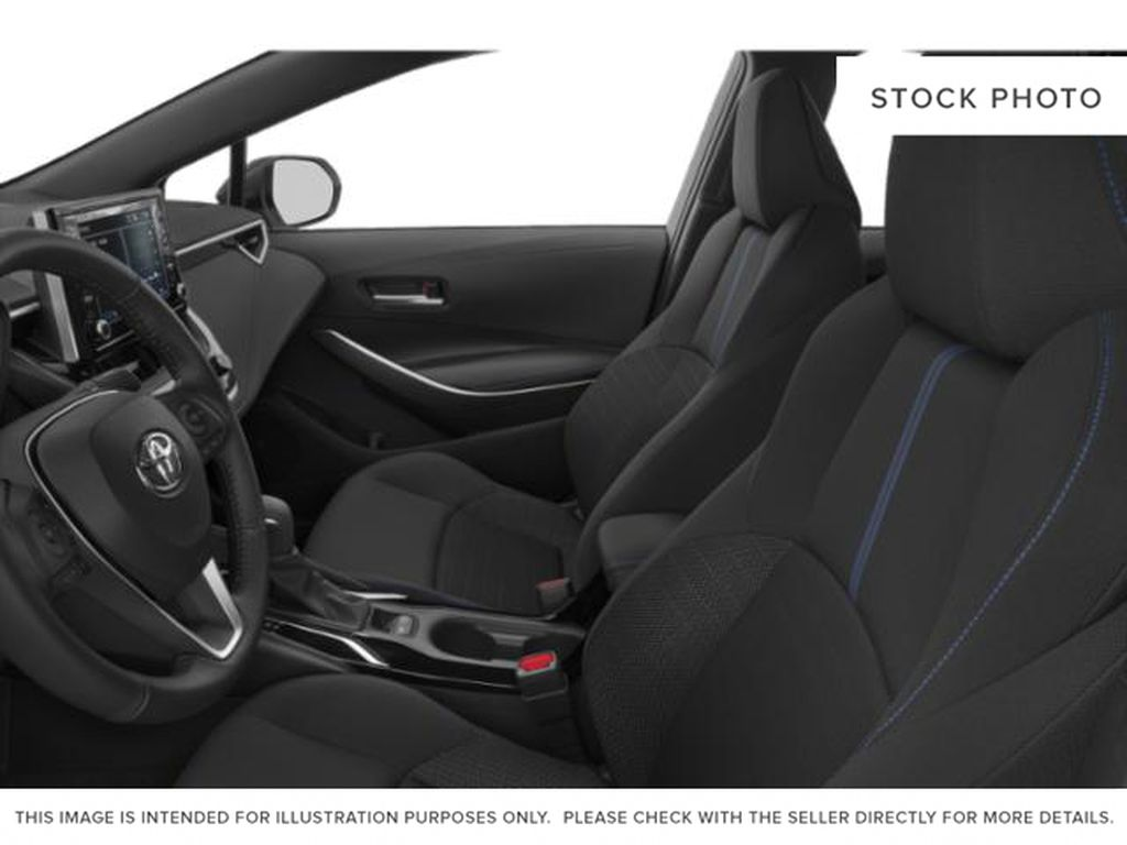 Black[Black Sand Pearl] 2021 Toyota Corolla Front Vehicle Photo in Brockville ON