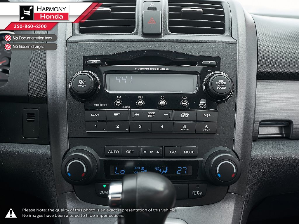 Silver - Alabaster Silver Metallic 2009 Honda CR-V Left Driver Controlled Options Photo in Kelowna BC