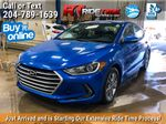 Blue[Marina Blue Metallic] 2017 Hyundai Elantra GL - Apple CarPlay / Android Auto, Bluetooth Primary Photo in Winnipeg MB
