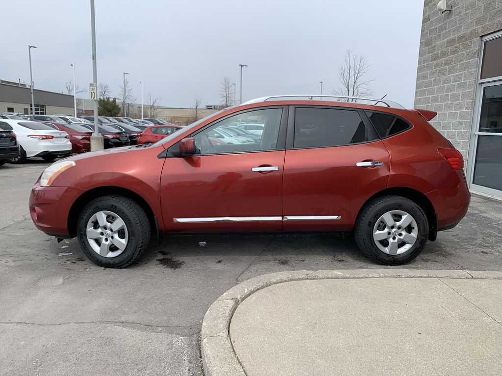 Red[Ignition Red Pearl] 2011 Nissan Rogue Left Front Rim and Tire Photo in Brampton ON