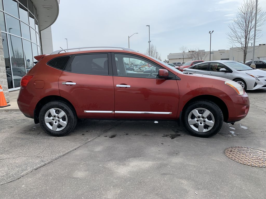 Red[Ignition Red Pearl] 2011 Nissan Rogue Front Vehicle Photo in Brampton ON