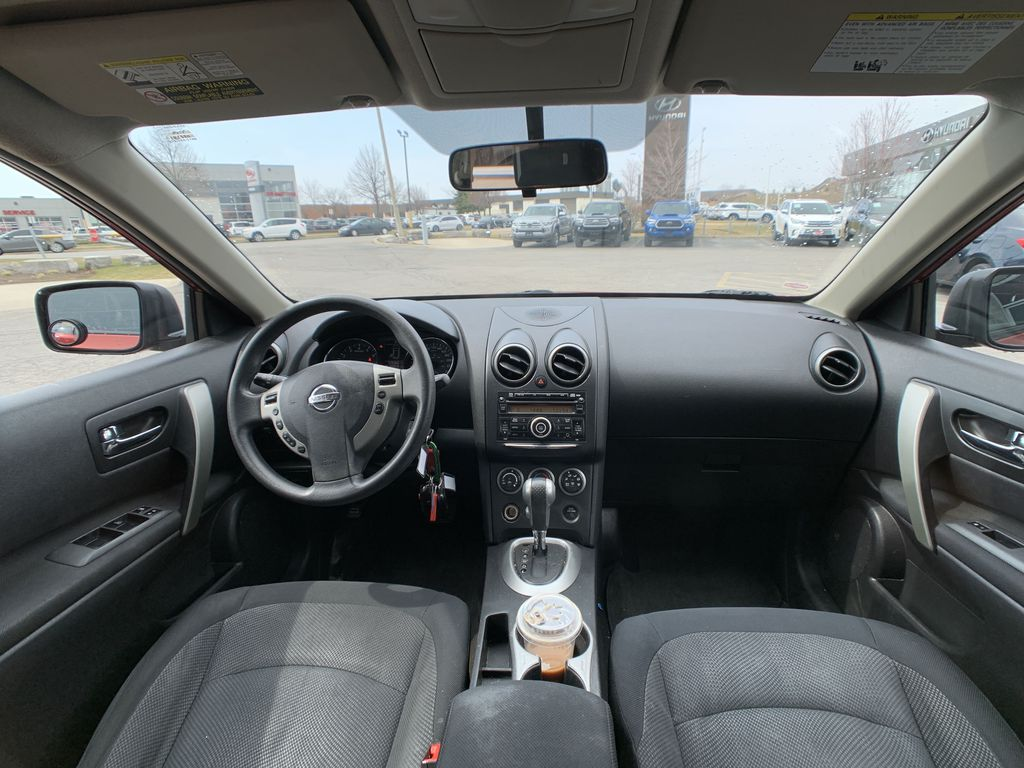 Red[Ignition Red Pearl] 2011 Nissan Rogue Strng Wheel/Dash Photo: Frm Rear in Brampton ON