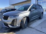 Gray[Satin Steel Metallic] 2021 Cadillac XT6 Sport Left Front Head Light / Bumper and Grill in Calgary AB