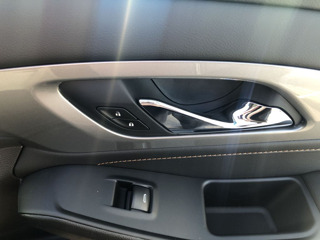 Gray[Graphite Metallic] 2021 Chevrolet Traverse LT Passenger Front Door Controls Photo in Canmore AB