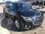 Gray[Graphite Metallic] 2021 Chevrolet Traverse LT Right Front Corner Photo in Canmore AB