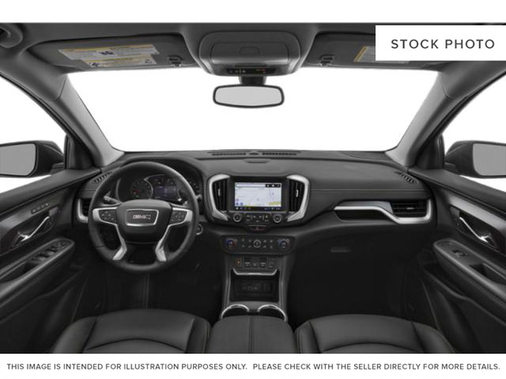 Gray[Graphite Grey Metallic] 2021 GMC Terrain SLE Elevation Central Dash Options Photo in Canmore AB