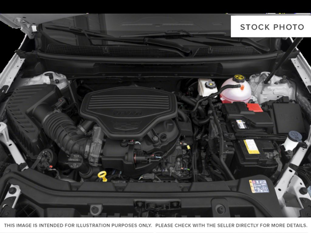 Red[Red Horizon Tintcoat] 2020 Cadillac XT5 Engine Compartment Photo in Edmonton AB