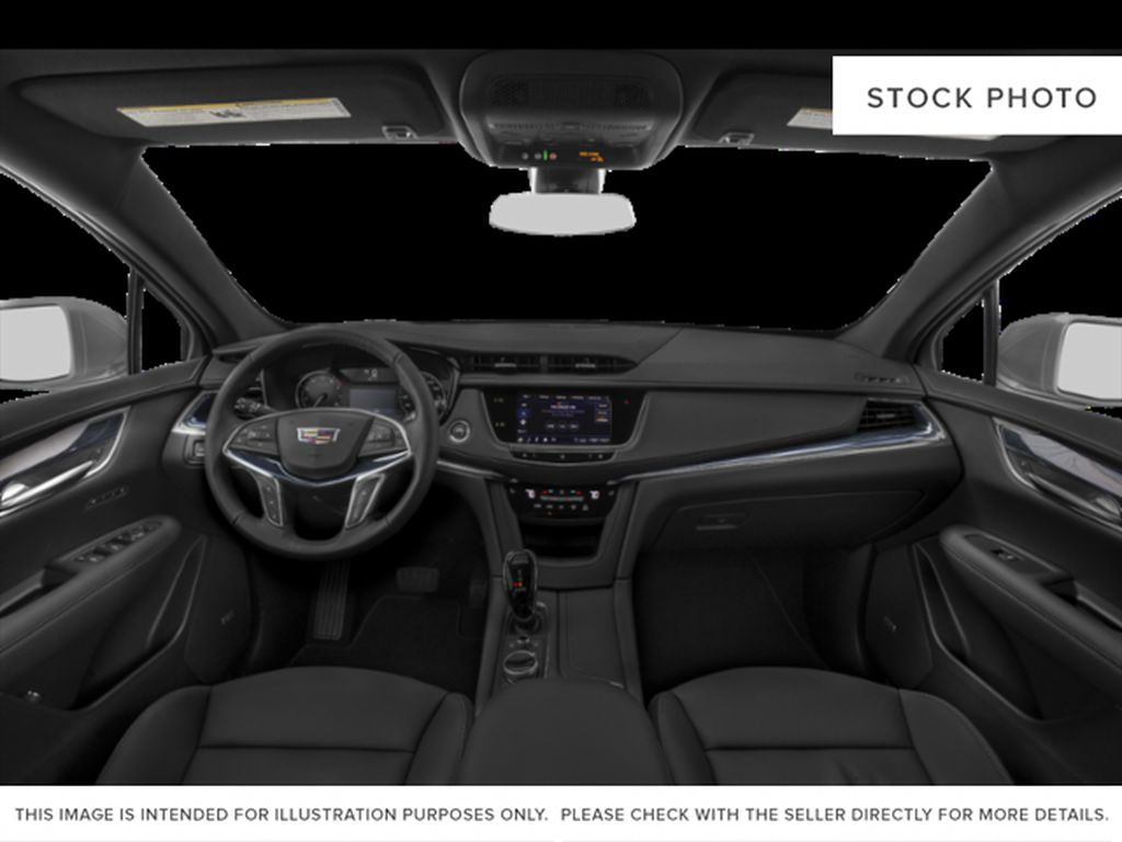 Red[Red Horizon Tintcoat] 2020 Cadillac XT5 Central Dash Options Photo in Edmonton AB