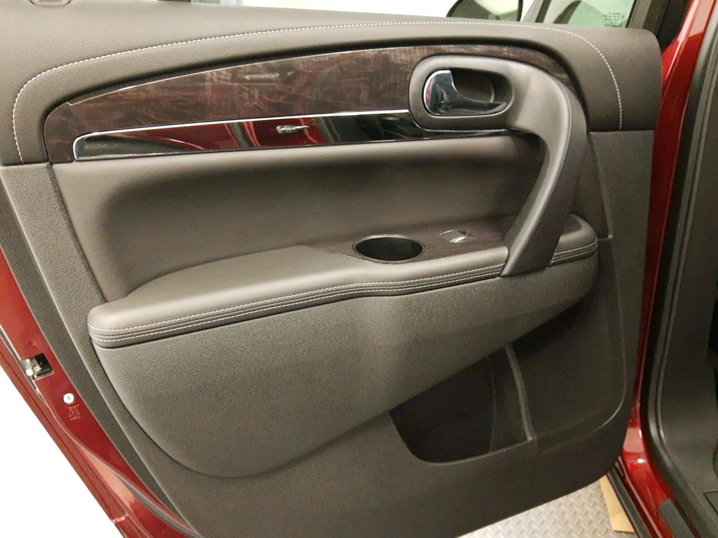 Red 2017 Buick Enclave Center Console Photo in Lethbridge AB