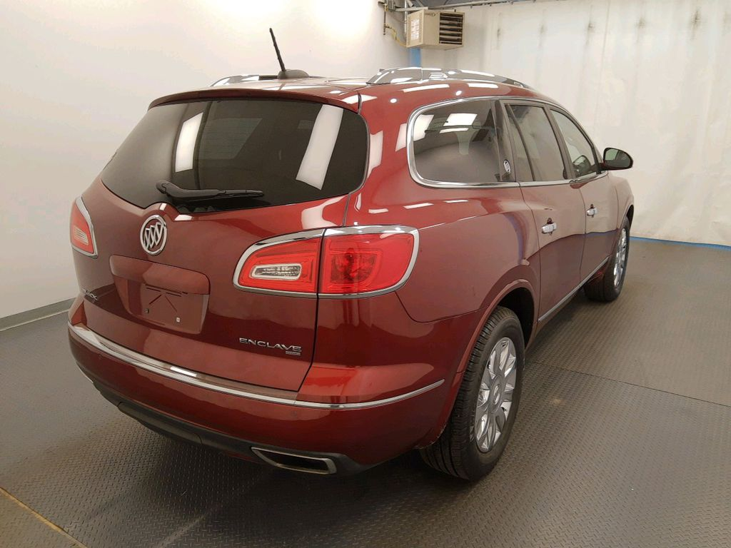 Red 2017 Buick Enclave Driver's Side Door Controls Photo in Lethbridge AB