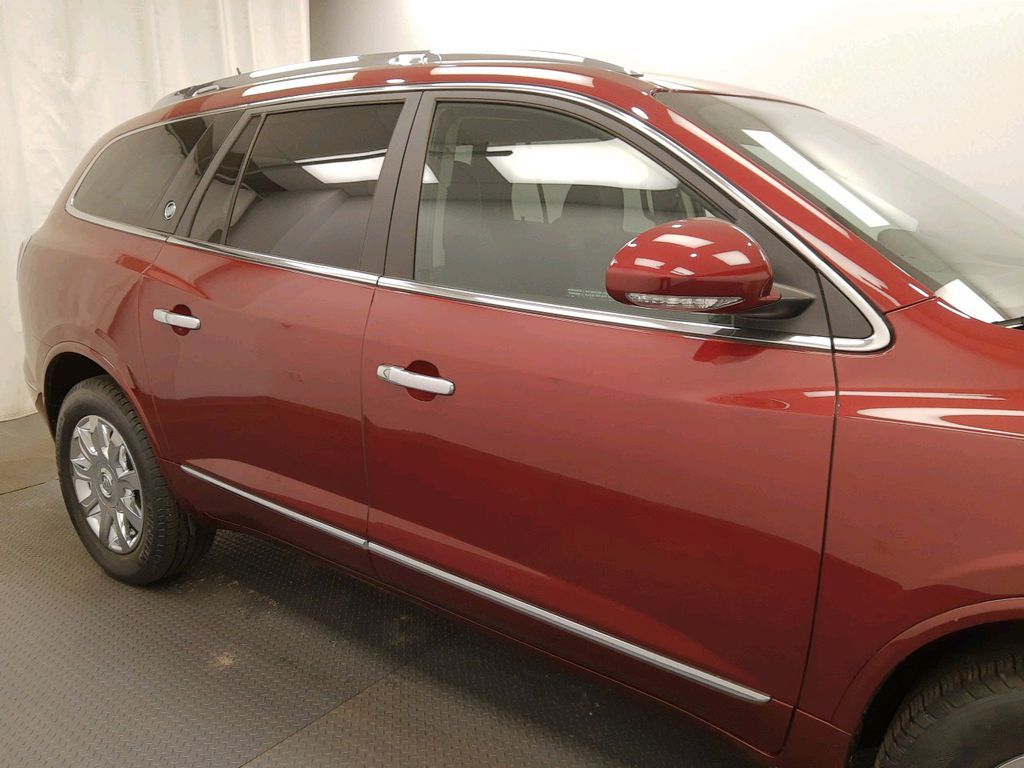 Red 2017 Buick Enclave Left Front Interior Door Panel Photo in Lethbridge AB