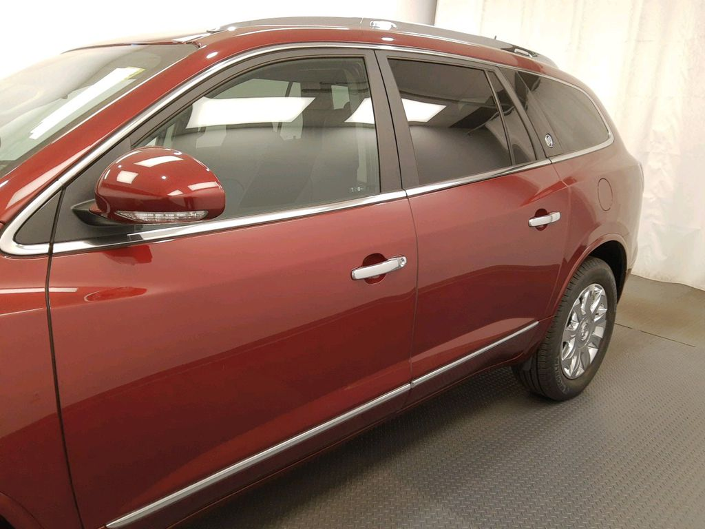 Red 2017 Buick Enclave Front Vehicle Photo in Lethbridge AB