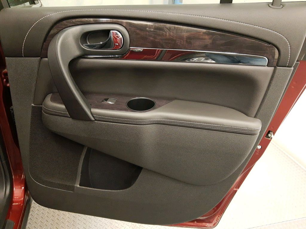 Red 2017 Buick Enclave Navigation Screen Closeup Photo in Lethbridge AB