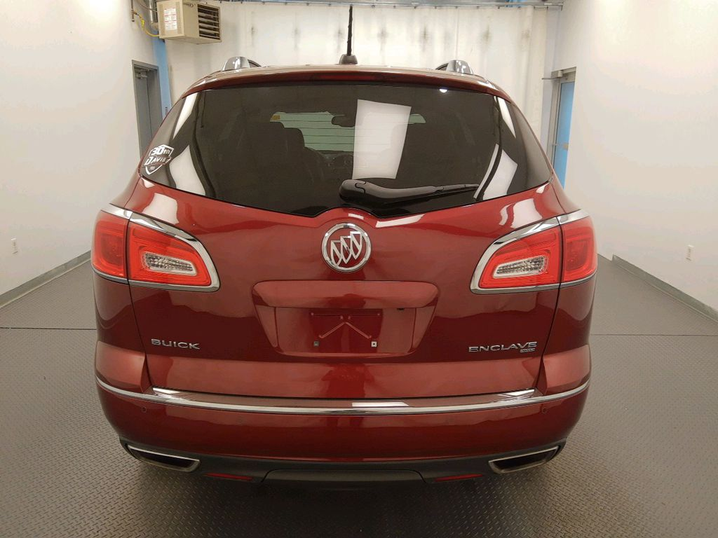 Red 2017 Buick Enclave Left Front Interior Photo in Lethbridge AB