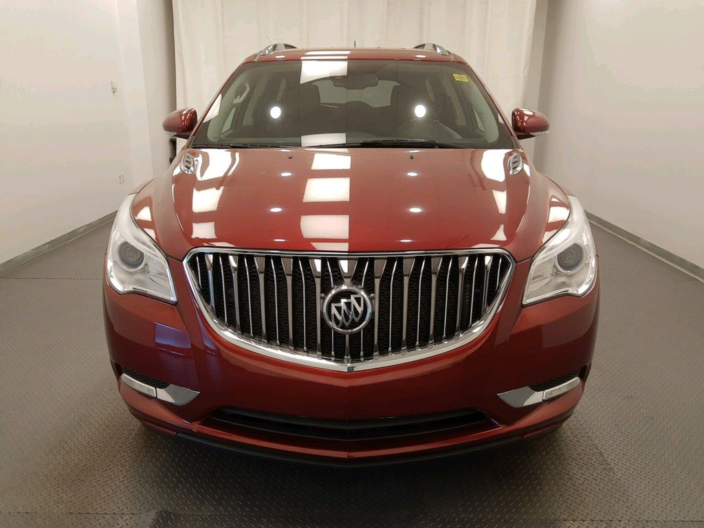 Red 2017 Buick Enclave Left Front Rim and Tire Photo in Lethbridge AB