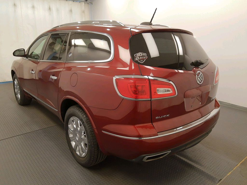 Red 2017 Buick Enclave Left Front Head Light / Bumper and Grill in Lethbridge AB
