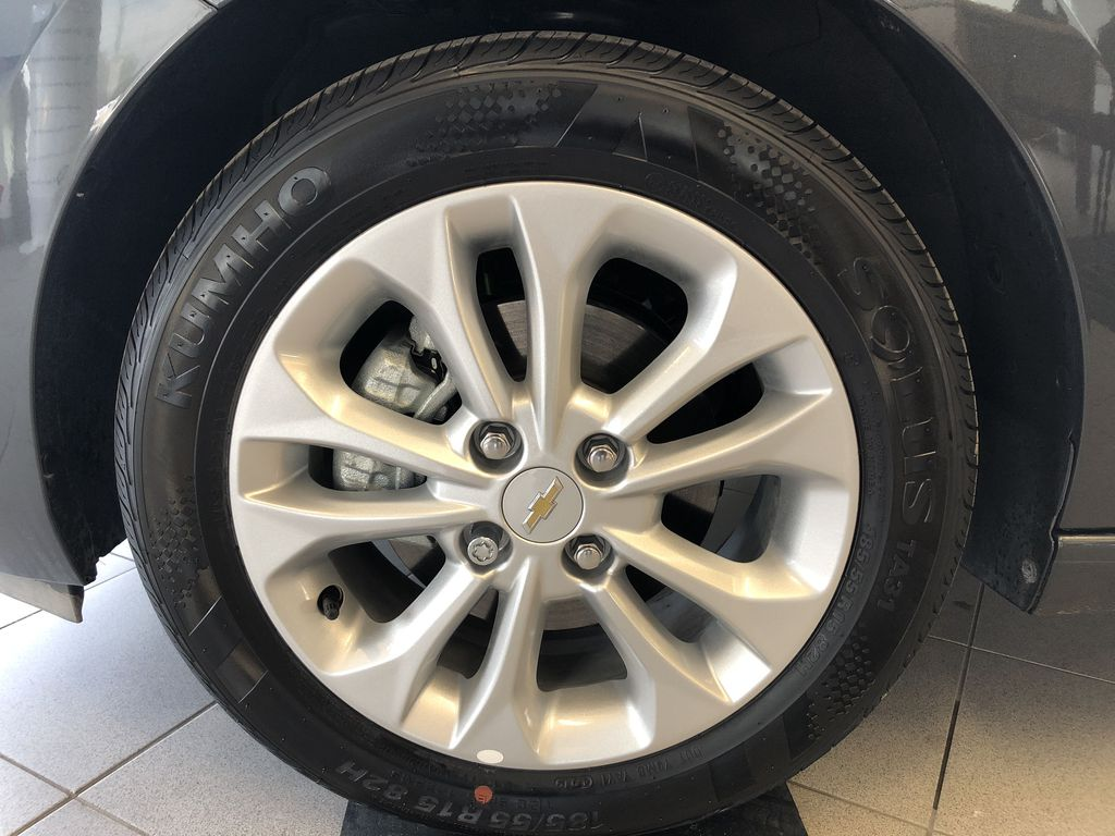 Gray[Nightfall Grey] 2020 Chevrolet Spark Left Front Rim and Tire Photo in Edmonton AB