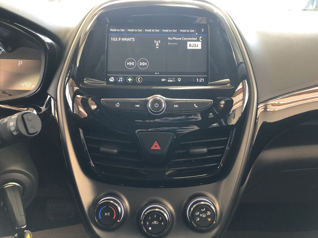 Gray[Nightfall Grey] 2020 Chevrolet Spark Central Dash Options Photo in Edmonton AB