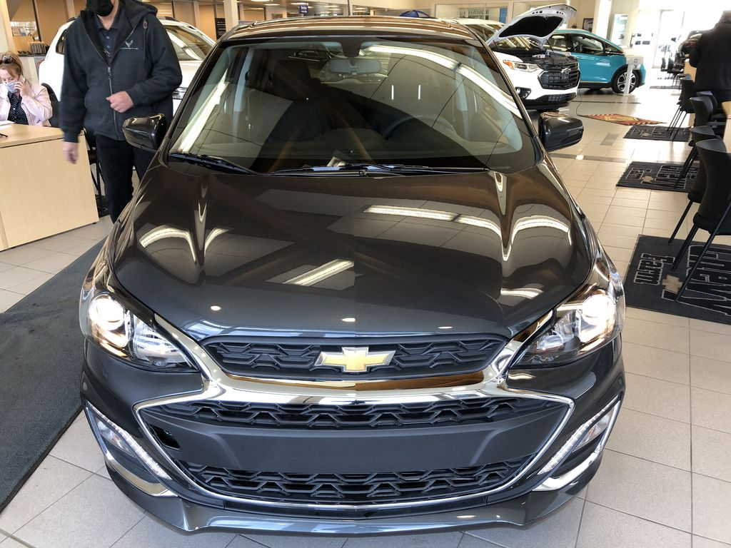Gray[Nightfall Grey] 2020 Chevrolet Spark Front Vehicle Photo in Edmonton AB