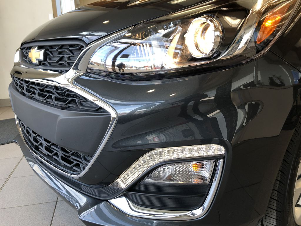 Gray[Nightfall Grey] 2020 Chevrolet Spark Left Front Head Light / Bumper and Grill in Edmonton AB