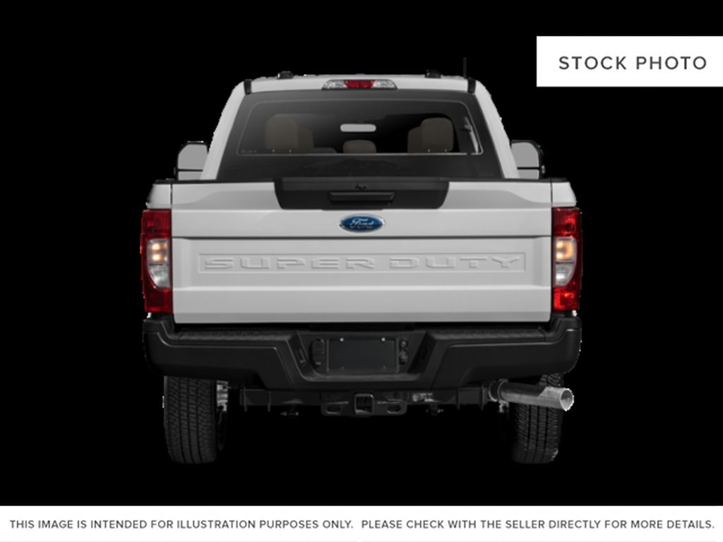 White[Oxford White] 2021 Ford Super Duty F-350 DRW Rear of Vehicle Photo in Dartmouth NS