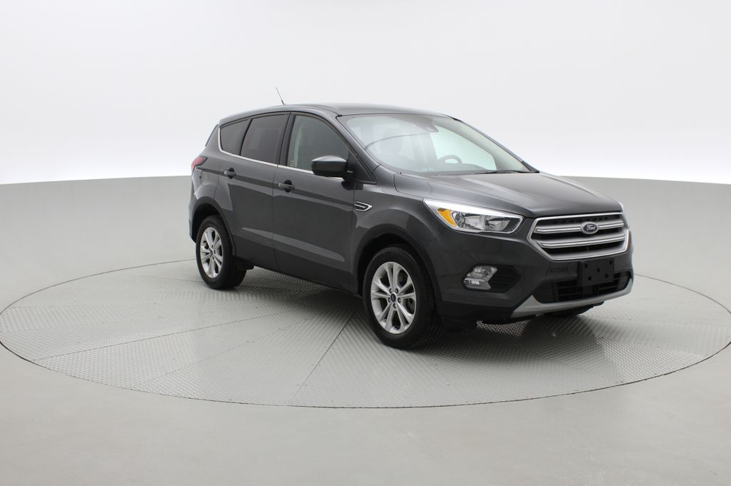 Gray[Magnetic] 2019 Ford Escape SE 4WD - Heated Seats, Backup Camera, MyFord Touch Left Front Corner Photo in Winnipeg MB