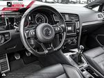 White - Oryx White Pearl 2016 Volkswagen Golf R Right Side Front Seat  Photo in Kelowna BC
