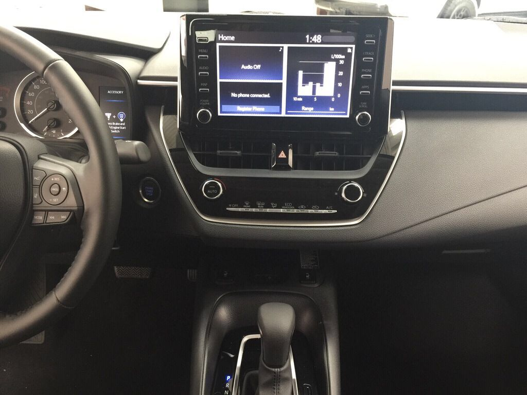 Gray[Celestite] 2021 Toyota Corolla LE Upgrade Central Dash Options Photo in Sherwood Park AB