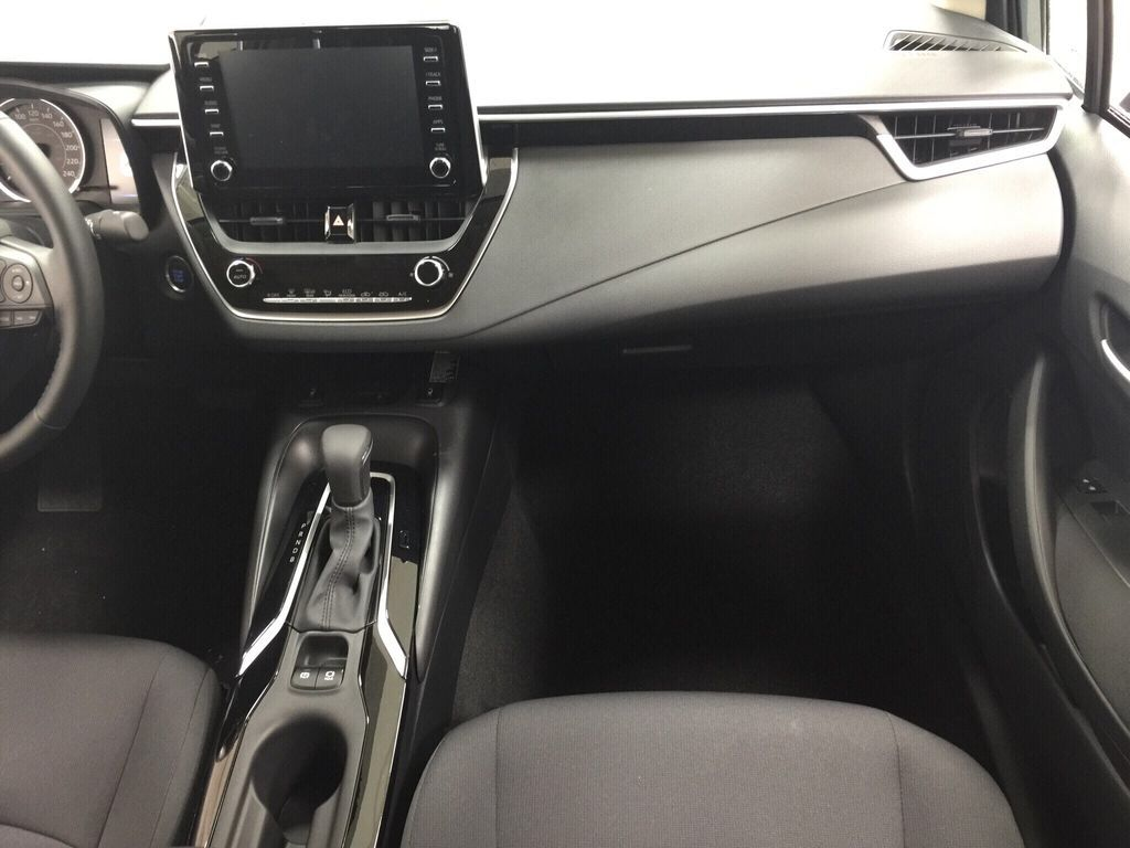 Gray[Celestite] 2021 Toyota Corolla LE Upgrade Right Front Seat Photo in Sherwood Park AB