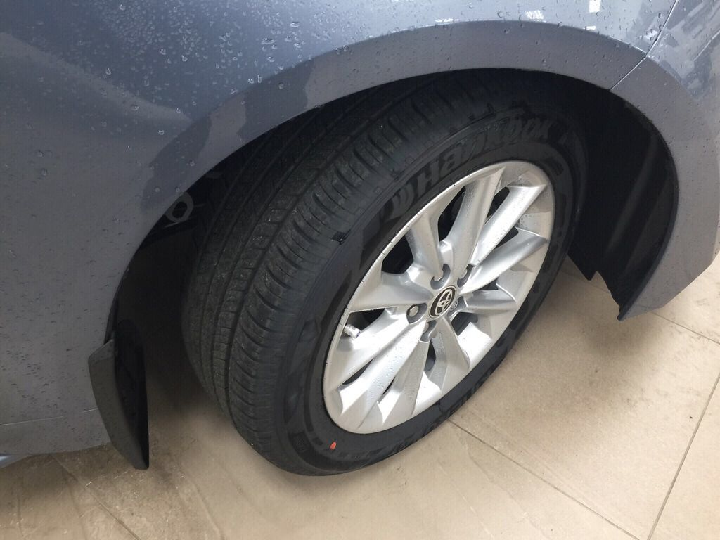 Gray[Celestite] 2021 Toyota Corolla LE Upgrade Right Front Rim and Tire Photo in Sherwood Park AB