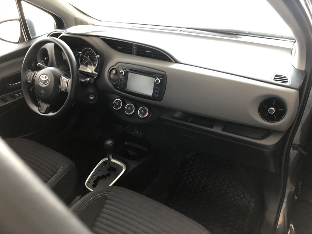 Grey 2018 Toyota Yaris Hatchback LE Steering Wheel/Instruments Photo in Edmonton AB