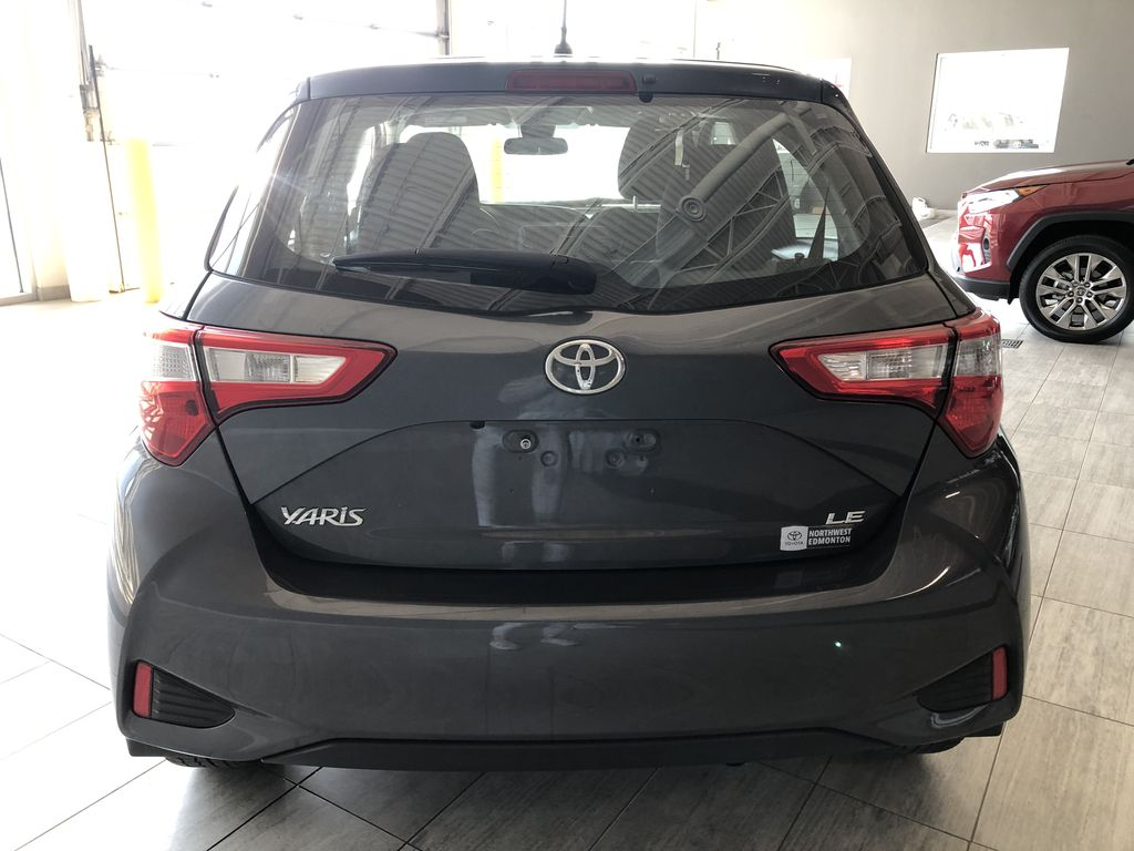 Grey 2018 Toyota Yaris Hatchback LE Trunk / Cargo Area Photo in Edmonton AB