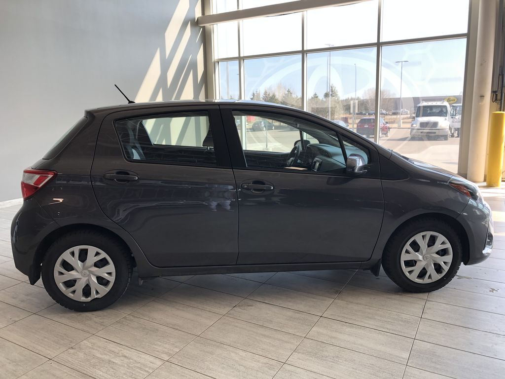 Grey 2018 Toyota Yaris Hatchback LE Right Rear Corner Photo in Edmonton AB