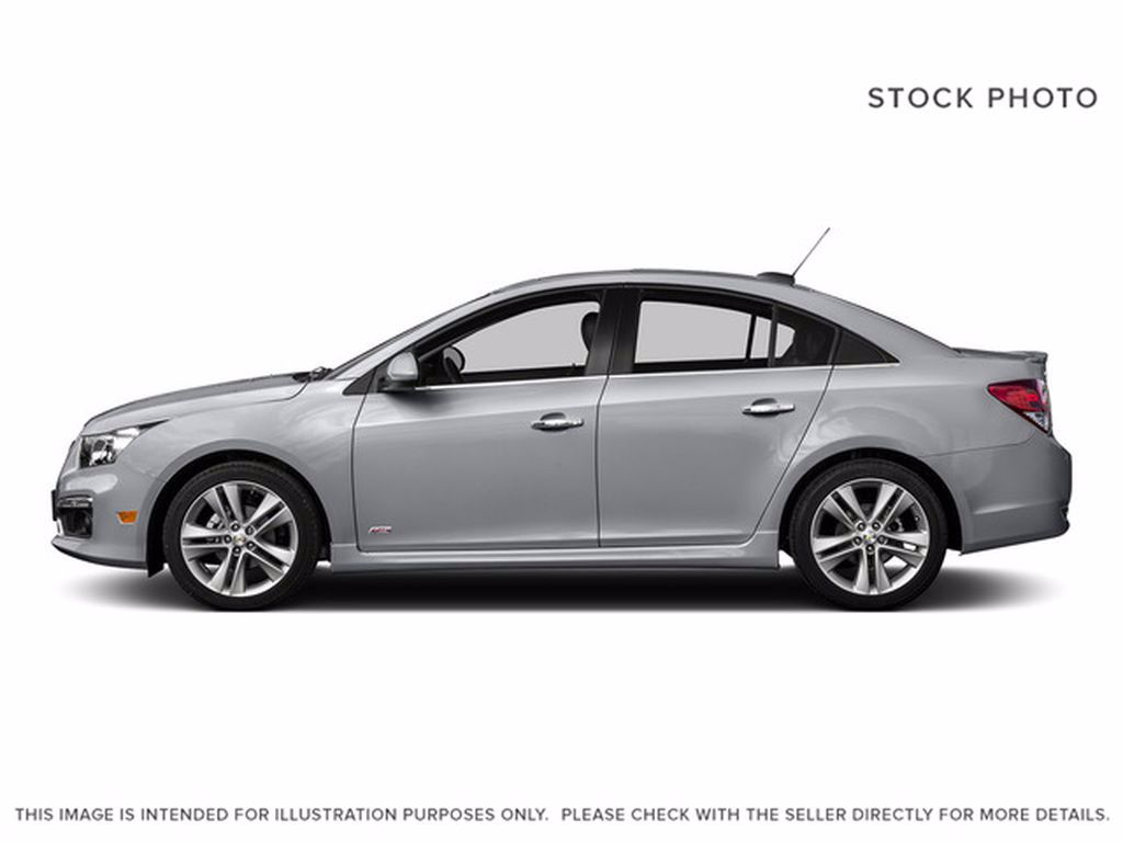 Silver[Silver Ice Metallic] 2016 Chevrolet Cruze Limited Left Front Interior Photo in Brandon MB