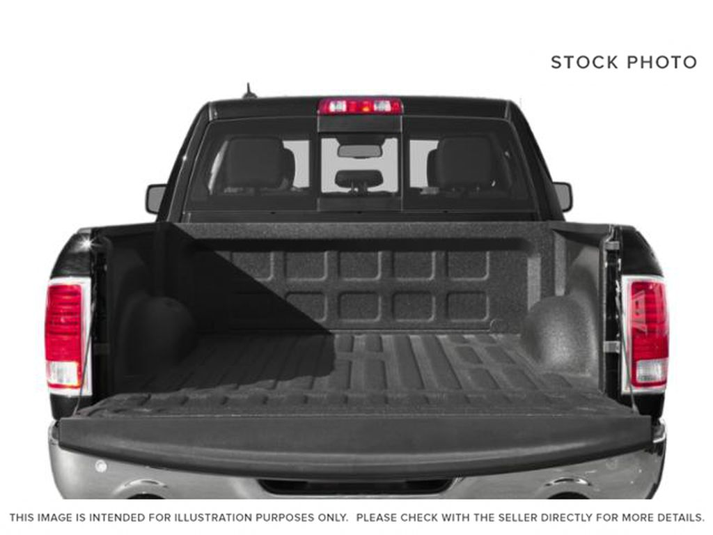 Silver[Bright Silver Metallic] 2018 Ram 1500 Trunk / Cargo Area Photo in Fort Macleod AB