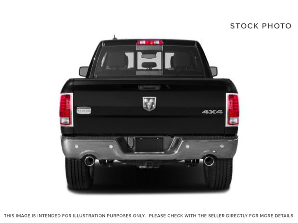 Silver[Bright Silver Metallic] 2018 Ram 1500 Rear of Vehicle Photo in Fort Macleod AB