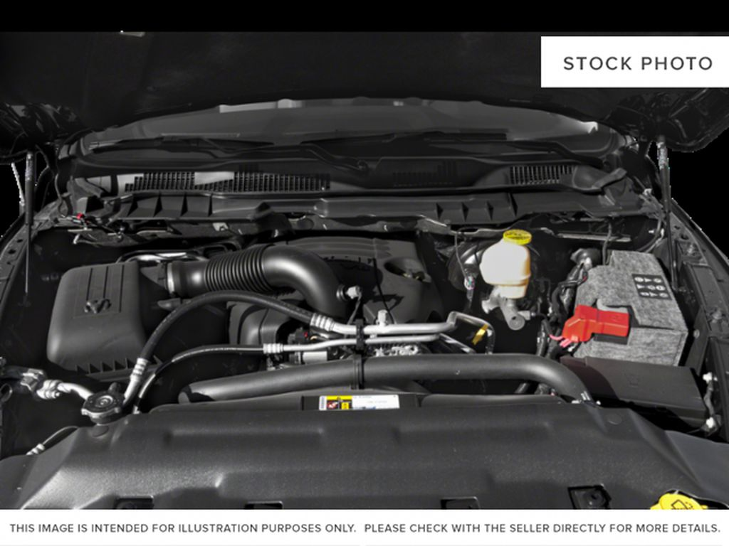 Silver[Bright Silver Metallic] 2018 Ram 1500 Engine Compartment Photo in Fort Macleod AB