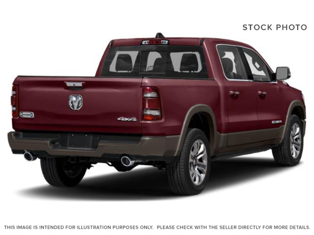 Red[Red Pearl] 2019 Ram 1500 Right Rear Corner Photo in Fort Macleod AB