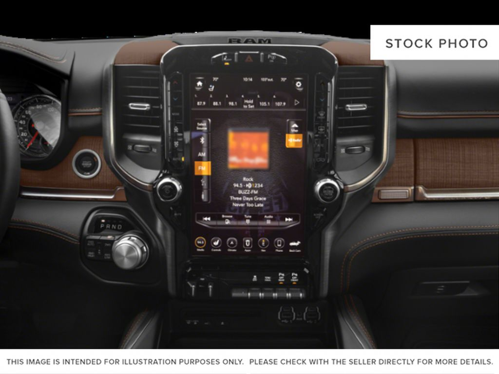 Red[Red Pearl] 2019 Ram 1500 Radio Controls Closeup Photo in Fort Macleod AB