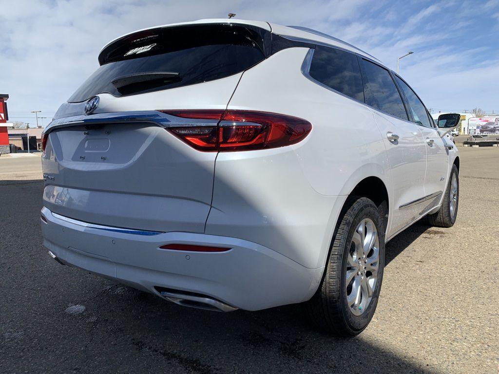 White 2021 Buick Enclave Left Front Interior Photo in Brooks AB