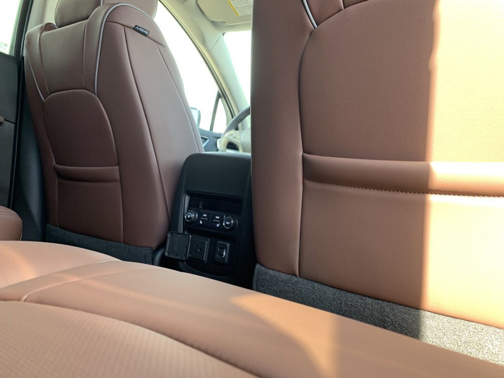 White 2021 Buick Enclave Center Console Photo in Brooks AB