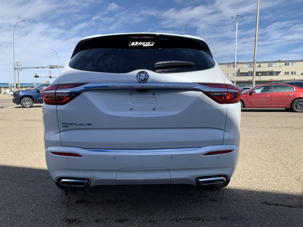 White 2021 Buick Enclave Left Front Interior Door Panel Photo in Brooks AB