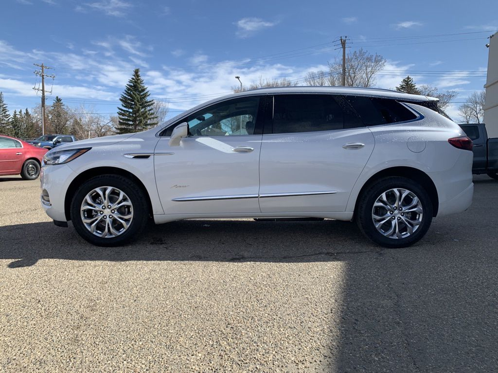 White 2021 Buick Enclave Left Front Corner Photo in Brooks AB