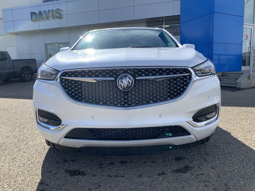 White 2021 Buick Enclave Front Vehicle Photo in Brooks AB