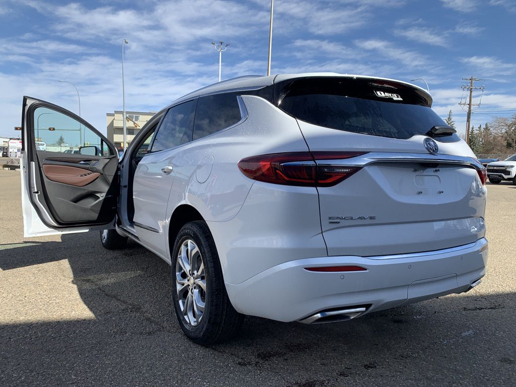 White 2021 Buick Enclave Left Front Rim and Tire Photo in Brooks AB