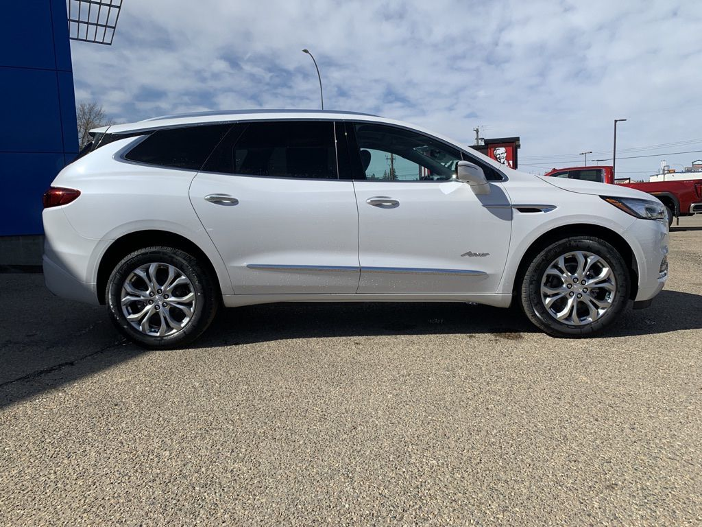 White 2021 Buick Enclave Sunroof Photo in Brooks AB