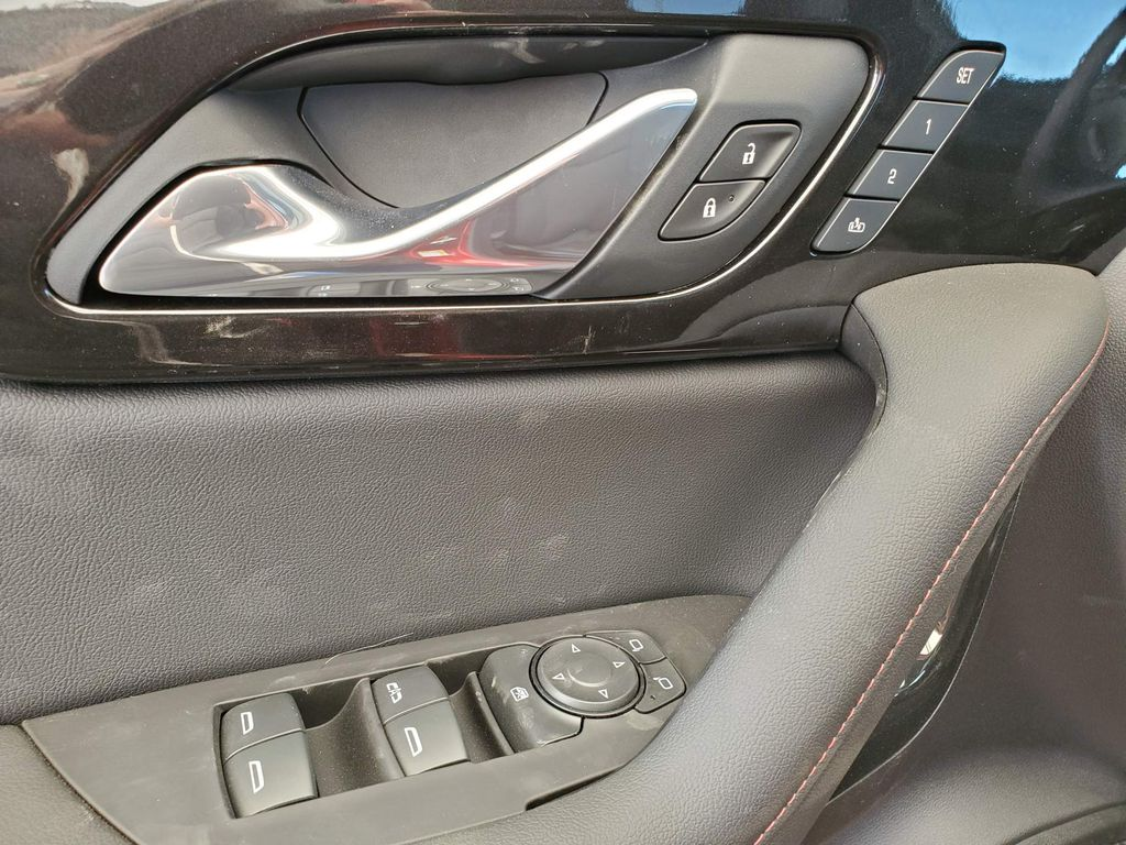 Red 2021 Chevrolet Blazer Driver's Side Door Controls Photo in Airdrie AB