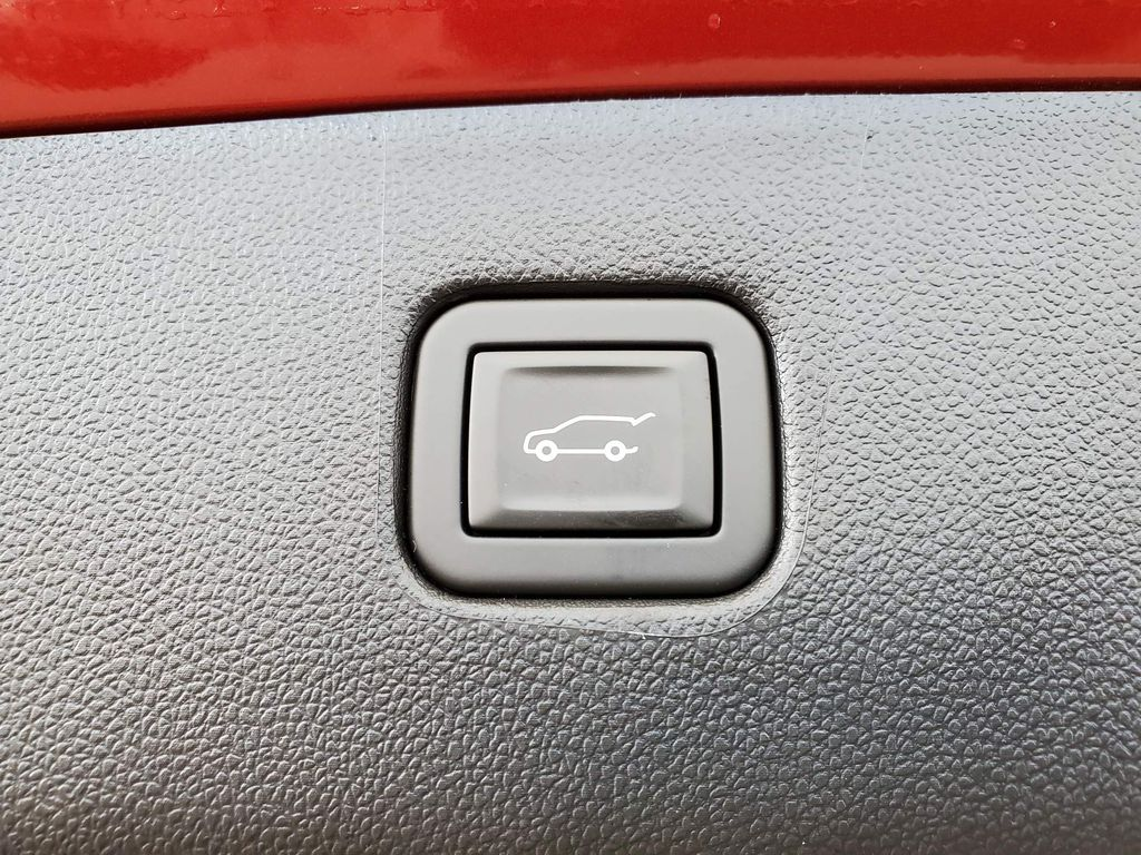 Red 2021 Chevrolet Blazer Rear of Vehicle Photo in Airdrie AB